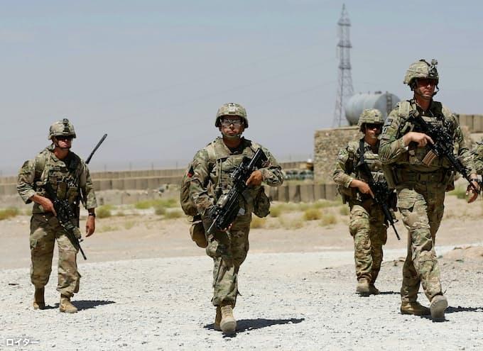 米軍、アフガニスタンで駐留規模削減か 米紙報道: 日本経済新聞
