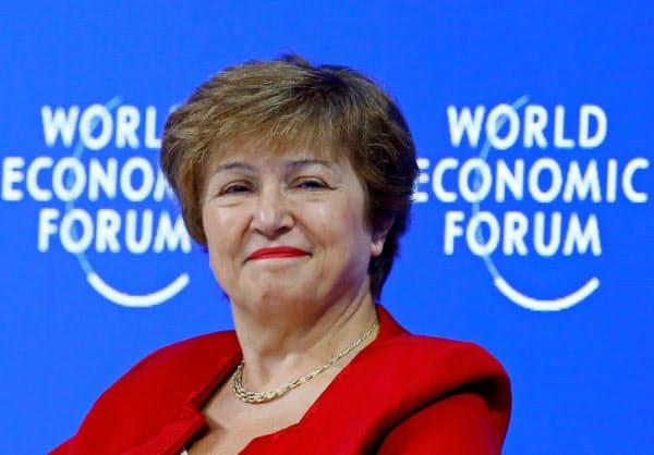 世界銀行のゲオルギエワ最高経営責任者(CEO)=ロイター