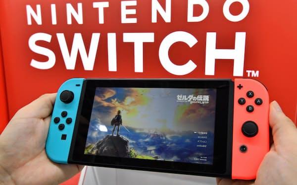 第4弾ではスマートフォンやゲーム機など生活に身近な製品も追加関税の対象になる(任天堂の「ニンテンドースイッチ」)