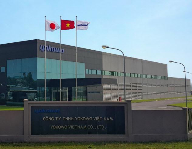 ヨコオは中国からベトナムにアンテナ部品の生産を移した(ベトナム工場)