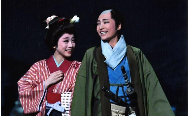 トップ2人は奥行きのある演技と歌唱で夫婦愛を印象付けた(C)宝塚歌劇団