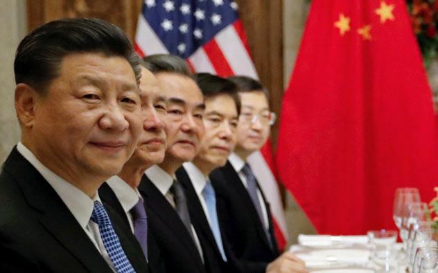 米中貿易交渉に臨む習近平(シー・ジンピン)国家主席(2018年12月、ブエノスアイレス)=ロイター