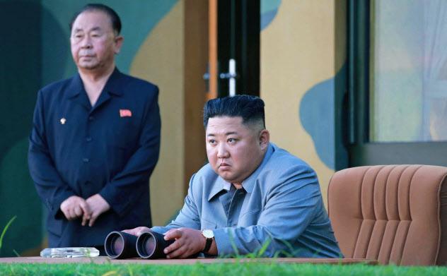 北朝鮮は国連安保理の制裁違反を繰り返している=朝鮮中央通信提供・ロイター