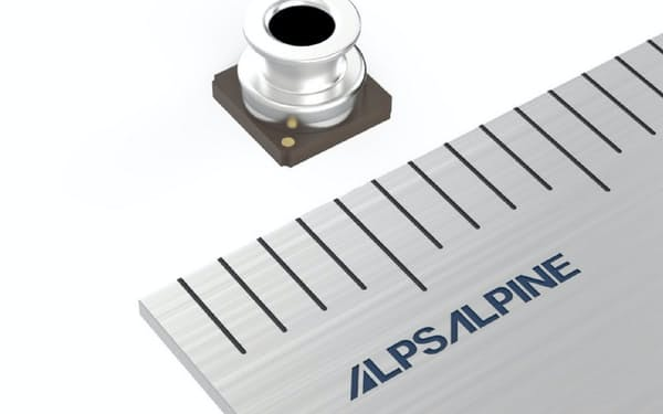アルプスアルパインが開発した圧力センサー「HSPPAD143A」