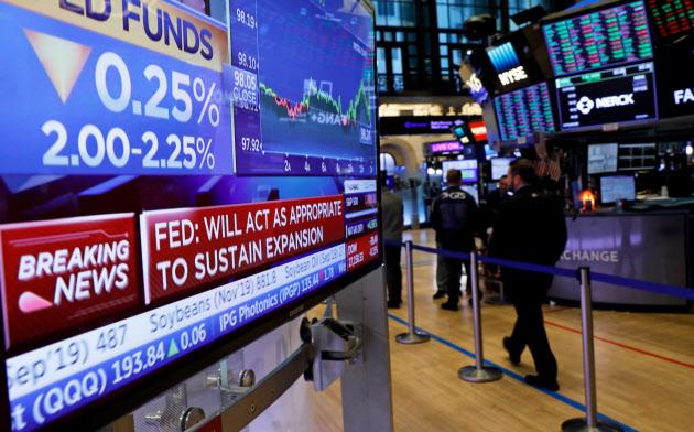 FRBは7月31日、10年半ぶりの利下げを決定したが、9月にも追加利下げがあるとの見方が市場では根強い=ロイター