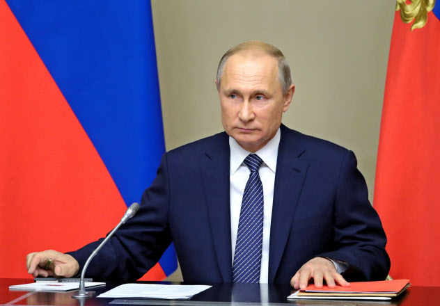 ロシアのプーチン大統領=AP