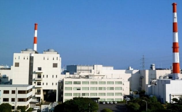 東海再処理施設(茨城県東海村)
