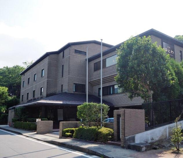 小田急が企業の保養所を買い取り改装した(神奈川県箱根町)