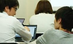 アヴィレン(東京・千代田)は対面で学習者へのフォローを重視する