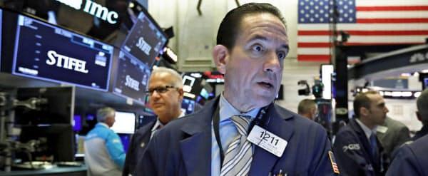 ダウ工業株30種平均は6営業日ぶりに反発した(写真はニューヨーク証券取引所)=AP