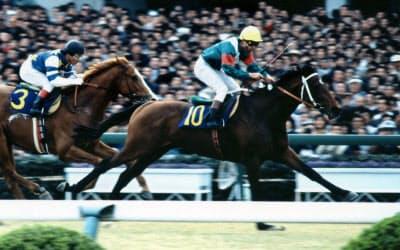 安定感を誇ったシンボリルドルフも種牡馬としては成功しなかった(JRA提供)