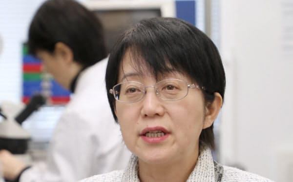 高橋政代氏はスタートアップのビジョンケア社長として、細胞治療に限らず新しい治療法に取り組む(写真は4月)