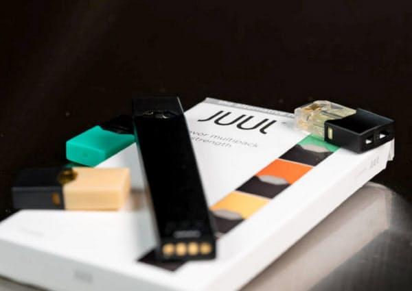 電子たばこ「JUUL(ジュール)」(図虫提供)