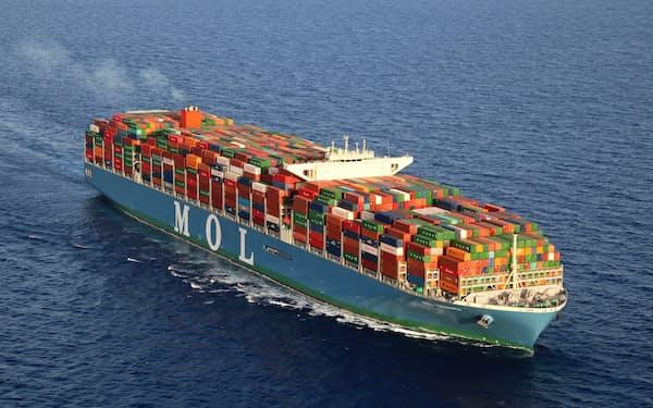 コンテナ船などの輸送動向が船舶燃料の需要を左右する