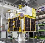 ALEの衛星は直径1センチの粒を地球に向け放出する。燃え尽きる際に流れ星に見える