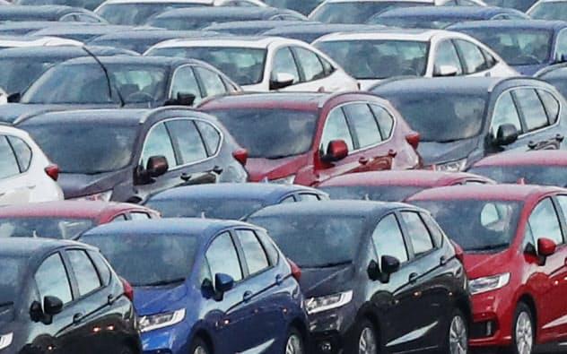対米輸出は自動車の落ち込みが大きい