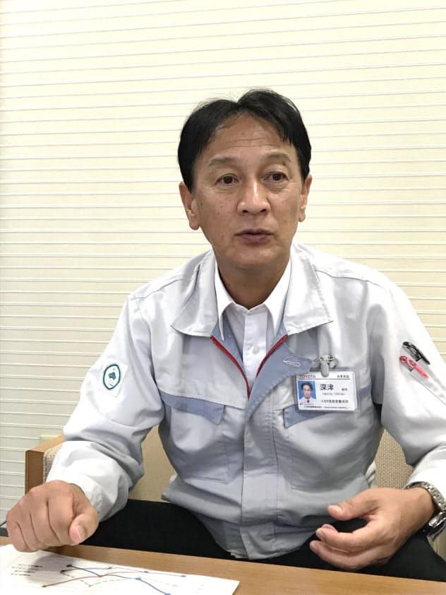 トヨタ技能者養成所の深津敏昭所長