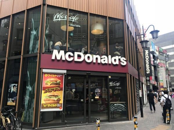 マクドナルドは店舗改装や期間限定バーガーなどで業績を回復させた