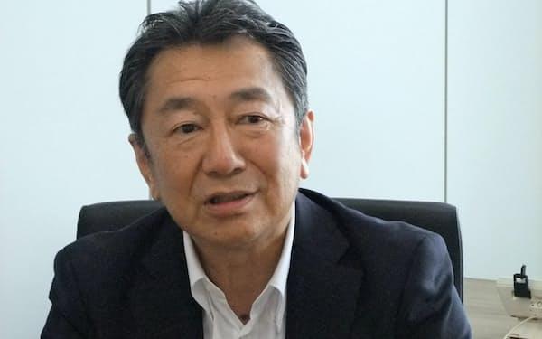 東京製鉄の今村清志常務営業本部長