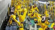 米中摩擦で設備投資が伸び悩む(ファナックの産業用ロボット)