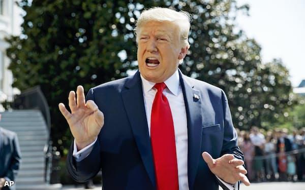 トランプ大統領は4回目の米朝首脳会談に意欲を示す(写真はAP)