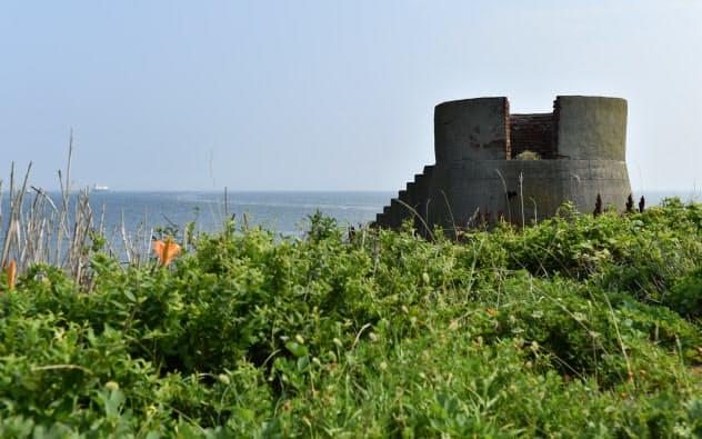 旧日本陸軍の海上要塞に上陸 第二海堡ツアー