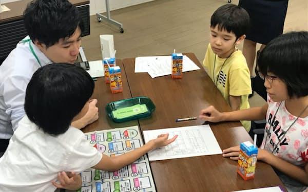 ゲーム形式でお金のやりくりについて学ぶ(東京都中央区のりそな銀行東京中央支店)