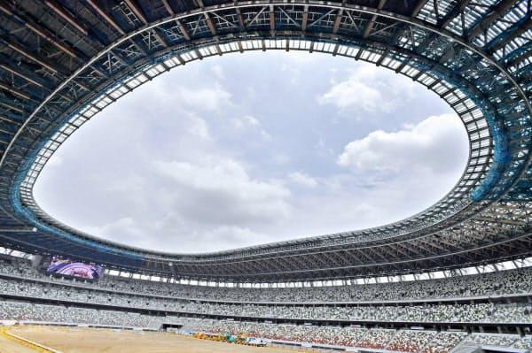 2020年東京五輪に続き、パラリンピックでも新国立競技場がメインスタジアムとなる