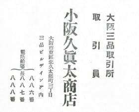大阪今日新聞社編「市場の人」より
