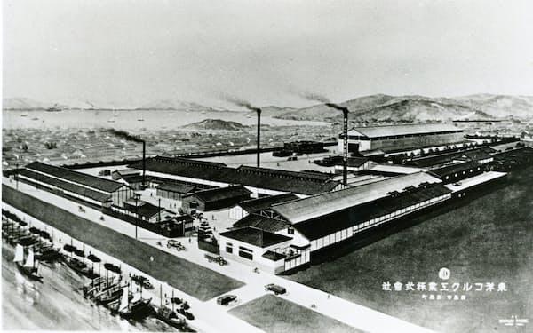 創立当時の東洋コルク工業(1921年頃)
