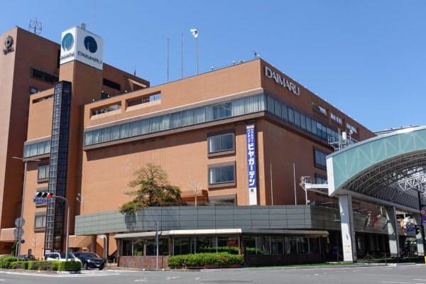 JR鳥取駅前にある鳥取大丸