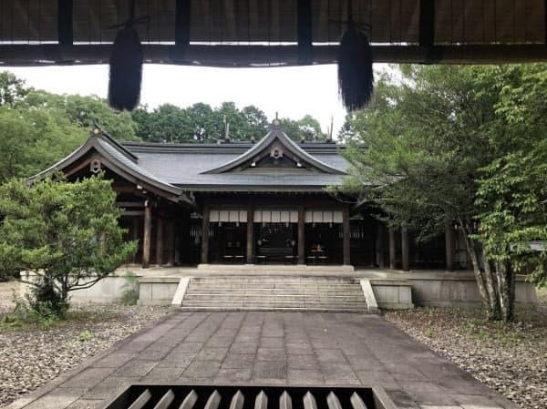 後醍醐天皇がまつられている吉野神宮(奈良県吉野町)