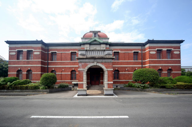 1899年建設の官営八幡製鉄所・旧本事務所は世界遺産の一部として保存(北九州市、画像提供は日本製鉄八幡製作所)