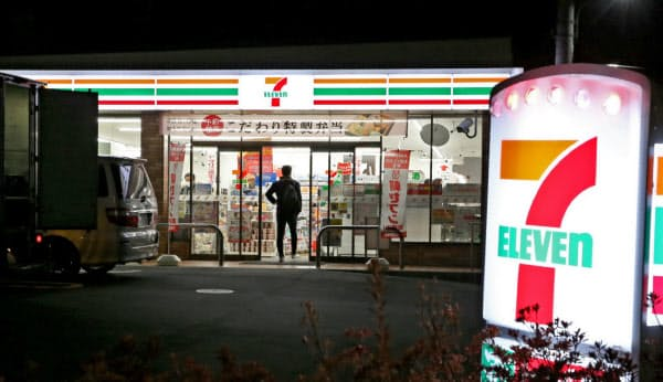 セブン―イレブン・ジャパンの7月の全店売上高は9年4カ月ぶりに前年割れとなった(東京都練馬区)