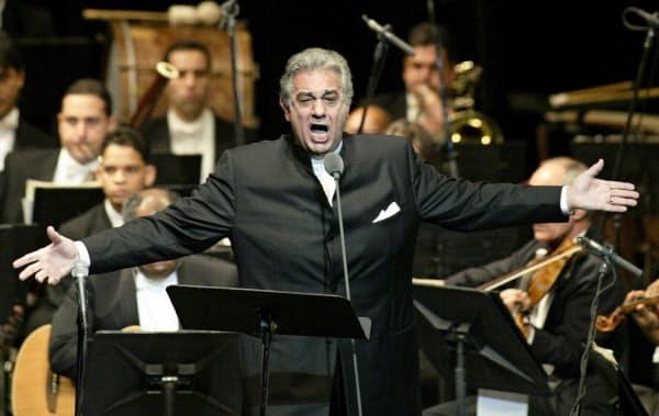 著名オペラ歌手のプラシド・ドミンゴ氏=AP