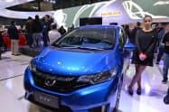 アルゼンチン経済の混乱により、ホンダの自動車事業は苦戦していた(2017年6月、ブエノスアイレスモーターショー)