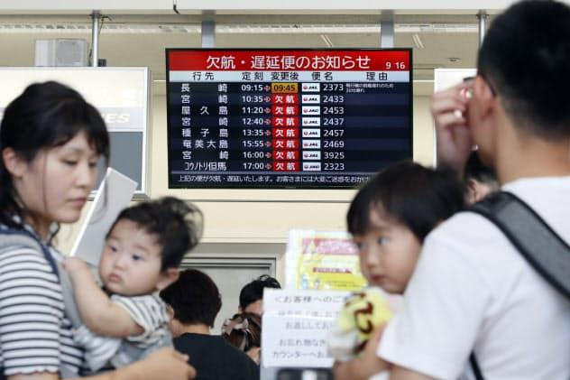 台風10号、Uターン直撃か 山陽新幹線は15日終日運休