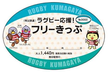 埼玉県や熊谷市のキャラクターが描かれている(イメージ)