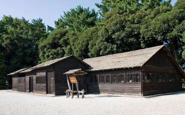 再現された日立の創業小屋