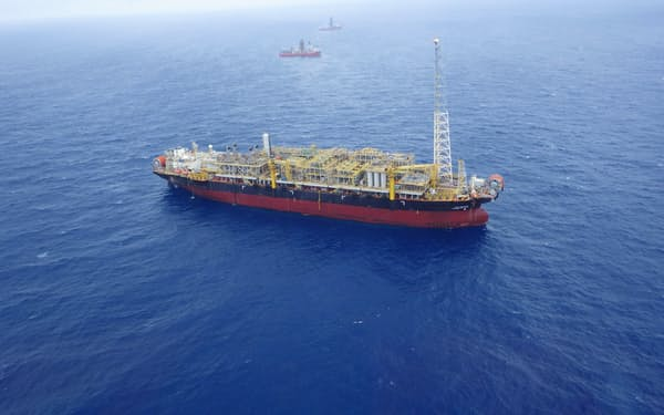 三井海洋開発がブラジル沖で手掛けるFPSO