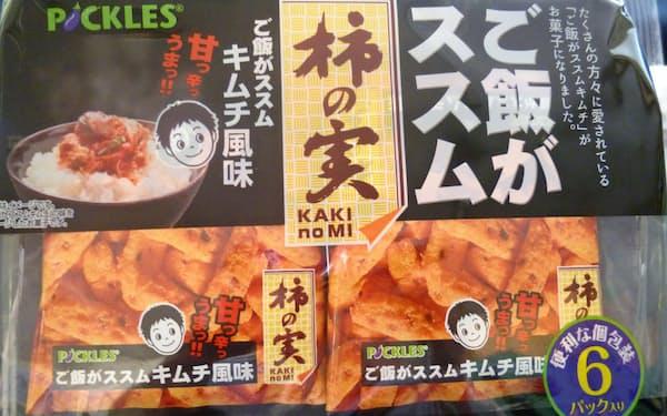 「柿の実 ご飯がススムキムチ風味」を10月7日から発売する