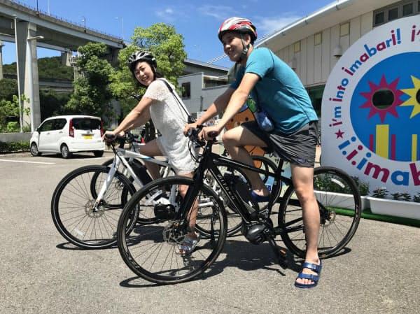 手軽に長距離サイクリングが楽しめる(愛媛県今治市のサンライズ糸山)