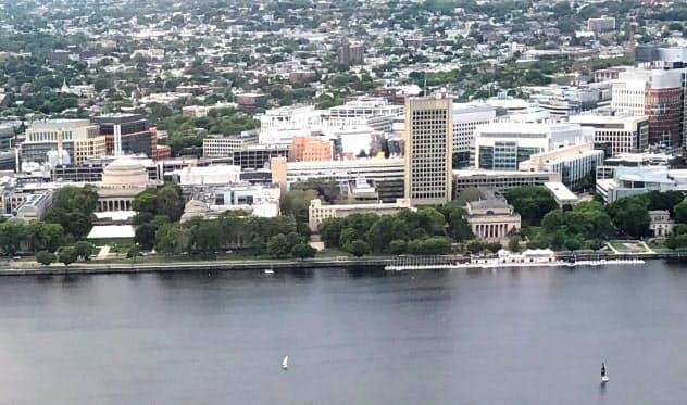 米ケンブリッジ市には有名大学が多く、スタートアップなどが集積する