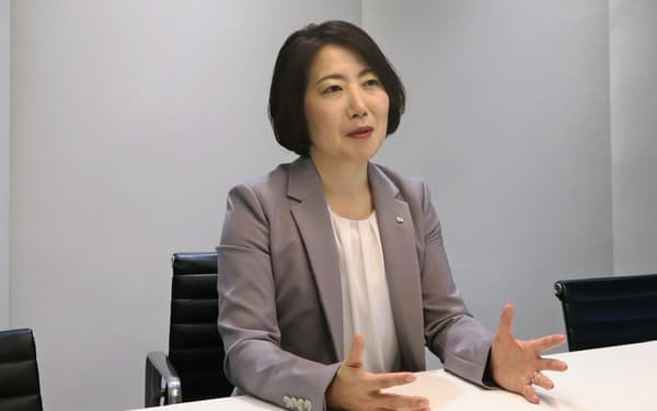 EY新日本監査法人の新理事長に就いた片倉正美氏(東京・千代田)