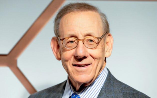 米不動産開発大手リレイテッドの創業者、スティーブン・ロス氏(3月、ニューヨーク)=ロイター