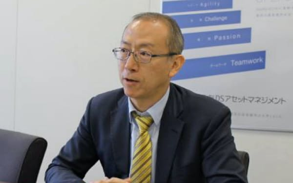 三井住友DSアセットマネジメントの古賀直樹シニアファンドマネージャー