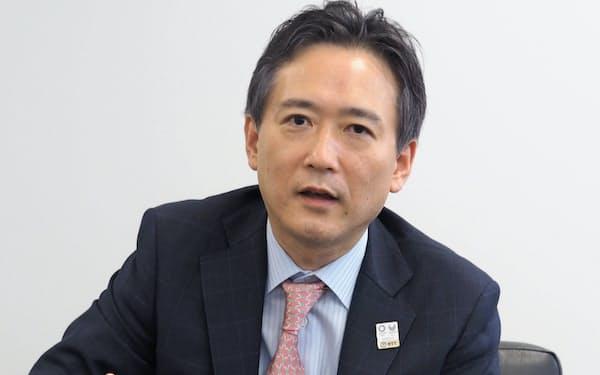 NTT栗山浩樹常務取締役2020準備担当