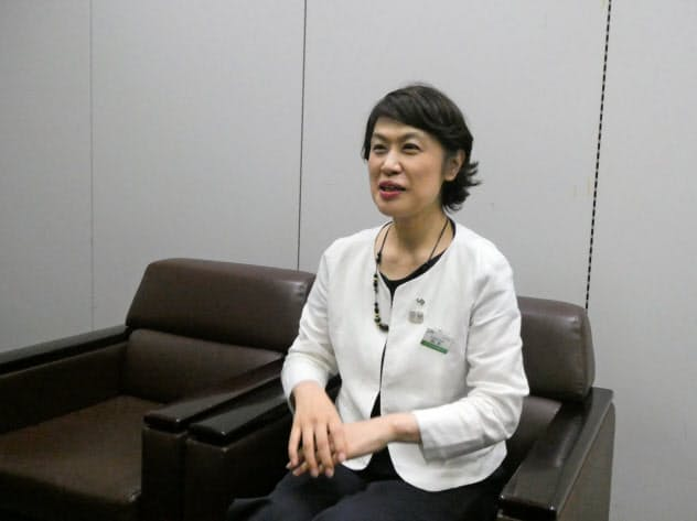 JR東日本の阪本未来子常務執行役員