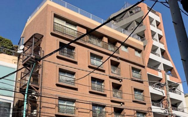 キュージーエスの入っていた建物(東京・渋谷)