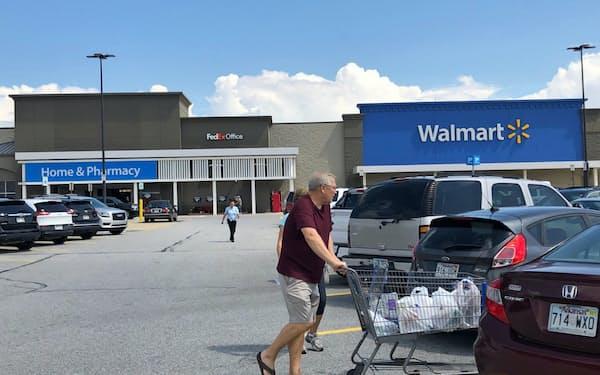 ウォルマートは全米に約5千の店舗を持つ(米アーカンソー州)